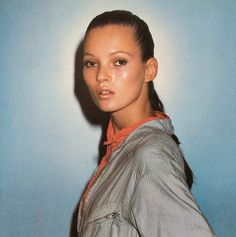 As seen in the FT. Kate: The Kate Moss book. 1995 first edition. Superbook ever since. Email if you want@idea-books.com #katemoss #juergenteller