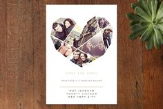 Complete Love Save the Date Cards by fatfatin at minted.com