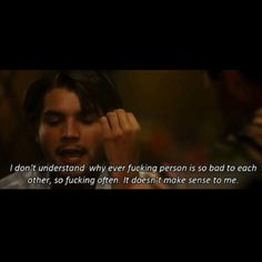 Moon in Aquarius confession. Big Words, Cool Words, Wild Quotes, True Lies, Favorite Movie Quotes, Movies Worth Watching, About Time Movie, Dont Understand, Make Sense