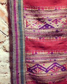 Tejido antiguo | Laos