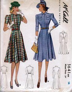 McCall 3641: Misses' dress