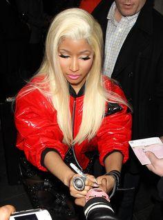 Elegantly ineffable excellence of Nicki Minaj