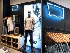 FormRoom for Levi's | House of Fraser UK Concessions | #Levis #HouseofFraser #RetailInteriors #StoreDesign #VM #StoreDisplay #Concessions #Retail #Interior #Design #Display
