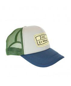 DEUS Handy Trucker cap Stone olive