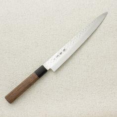 "Sakai Takayuki 45 Layer Damascus Wa Sujihiki 240mm (9.4"") Chef Knife Bags, Chef Knife Set, Knife Sets, Sharpening Stone, Knife Sharpening, Japanese Chef, Professional Chef, Damascus Steel, Kitchen Knives"