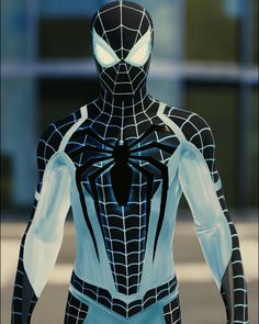 Frosty the Spider.‬ Icy the Spider. Or Spider-Fresh Marvel Dc, Marvel Comics, Marvel Comic Universe, Marvel Heroes, Spiderman Suits, Spiderman Spider, Amazing Spiderman, Siper Man, Suits Series