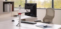 Sapper™ Single Monitor Arm | Knoll