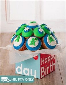 Confectionary Cakes and Cupcakes: Happy Birthday Cupcake Bouquet for Him ! Good Birthday Presents, Birthday Gift For Him, Happy Birthday Cupcakes, Order Cake, Gifts For Him, Yummy Treats, Cupcake Cakes, Bakery, Bouquet