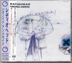 Radiohead Paranoid Android Single, Japanese edition 1997