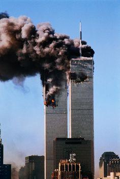 September 11, 2001;  Terror in the city.   | Steve McCurry