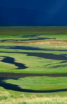 See where the horizon ends in  the endless expanse of land and sky that is Mongolia.  Travel Dream #28 Mongolia.