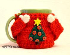 Resultado de imagen de crochet mug cozy