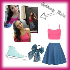 """Celeb Style Ariana Grande by Bethany Mota"" by immissrainbow on Polyvore"