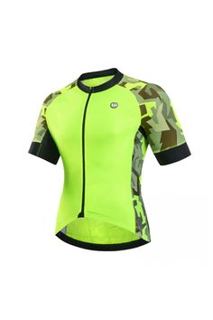 hi vis cycling jersey