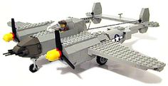 P 38 in Legos -- the best of both worlds!