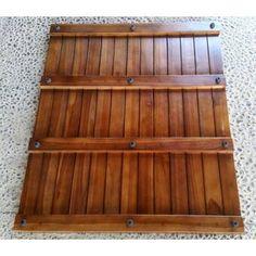 Union Rustic Cathrine Shower Mat & Reviews   Wayfair Teak Shower Mat, Non Slip Shower Mat, Sunken Tub, Wood Pieces, Mold And Mildew, Bed & Bath, Teak Wood, The Ordinary, Rustic