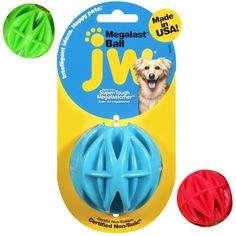JW Pet Megalast Mega Ball Dog Toys - Small