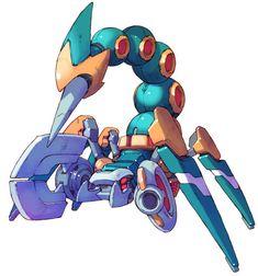 Mecha Scorpion from Mega Man Zero 2