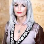 Emmylou Harris, love love love. I got the cut, now just waiting to go get the color.i don't think age matters for this style. i dont care if it does. I'm doin it cause we only live once right?