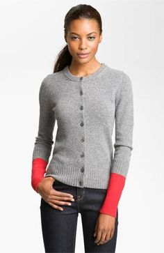Marc By Marc Jacobs 'ariana' Colorblock Cardigan | Nordstrom