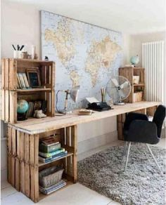 Get inspired with these DIY desk ideas.