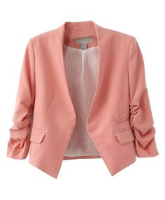 Cropped Pastel Blazer - Contact picture@chicnova.com directly once your pins goes viral!