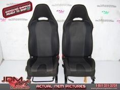 Used JDM Subaru Impreza WRX 2006-2007 Front Seats.  Find this item on our website: https://www.jdmracingmotors.com/engine_details/2273  Tags: #jdm #jdmracing #jdmracingmotors #jdmseats #wrxseats #subaruwrx #subaruseats #racingseats