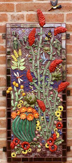Grace's Desert Mural | Gail T. Roberts Studio | Tucson, AZ