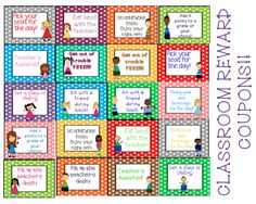 Students love these reward coupons!! They are simple, easy, and cheap on the teacher! :)