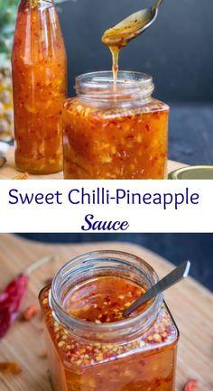 Sweet Chilli-Pineapple Sauce: