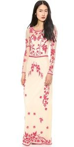 Low Prices ALICE by Temperley Clover Maxi Dress Online Cheap