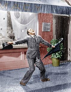 Gene Kelly in the 1952  film Singin' in the Rain