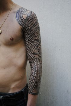 inked patterns.