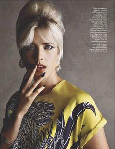 Model: Agyness Deyn/Vogue UK