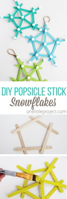 These DIY popsicle s
