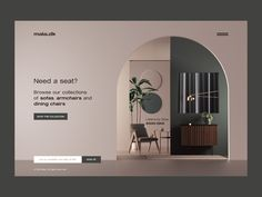 maia.dk by Peter Tarka on Dribbble Banner Design Inspiration, Website Design Inspiration, Web Design Examples, Furniture Catalog, Furniture Ads, Ad Design, Design Concepts, Graphic Design, Catalog Design