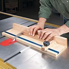 Micro-Sled | Woodsmith Tips