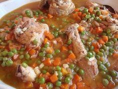 Pollo Arvejado (Galician Chicken)