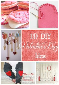 #19 DIY....Valentine Adorable Gifts Or Decor !