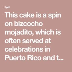 This cake is a spin on bizcocho mojadito, which is often served at celebrations in Puerto Rico and the Dominican Republic. We made this gluten-free almond cake using a cup-for-cup blend with xanthan …