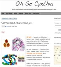 Oh So Cynthia Smoot: Fashion Jewelry & Accessories - Shop Responsibly | Les Amis