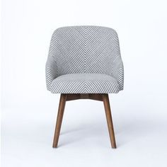 west elm's home office furniture features minimalist lines and styles. Find modern office furniture that's perfect for any home office. Desk Chair Comfy, Swivel Office Chair, Home Office Chairs, Office Furniture, Modern Furniture, Home Furniture, Furniture Design, Office Guest Chairs, Soft Chair