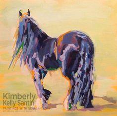 "Daily Paintworks - ""Shasta Solomon"" - Original Fine Art for Sale - © Kimberly Santini"