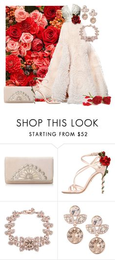 """""""Rose Gown"""" by annetkor ❤ liked on Polyvore featuring Zuhair Murad, Dolce&Gabbana and Givenchy"""