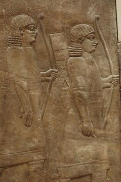 5 guardias ashurbanipal