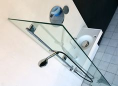 HOST wash basin with integrated standard shower and stainless steel sliding rail