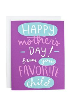 37 Funny Mother's Day Cards That Will Automatically Make You Her Favorite