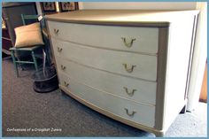 confessions of a craigslist junkie: Mid-Century Dresser Makeover