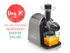 Juicer Giveaway!   Style & Spice