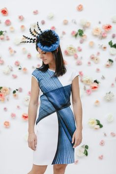 Kentucky Derby Outfit Inspiration - What to Wear to Kentucky Derby - Headcandi Fascinator - Clover Canyon Dress